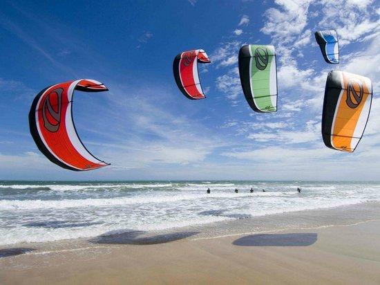 Afrika Pearl & Spa: Kitesurf