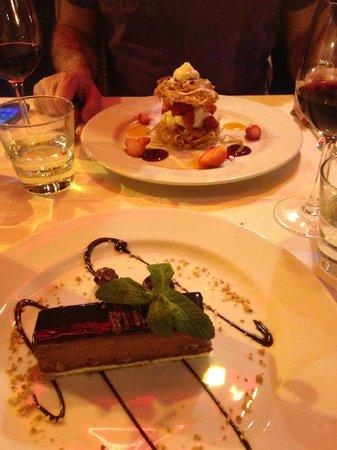 Le Grand Balcon: A sweet dessert.