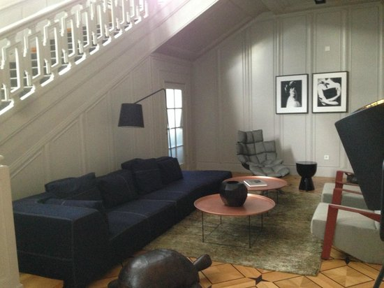 Das Stue : Lounge area (one of several)