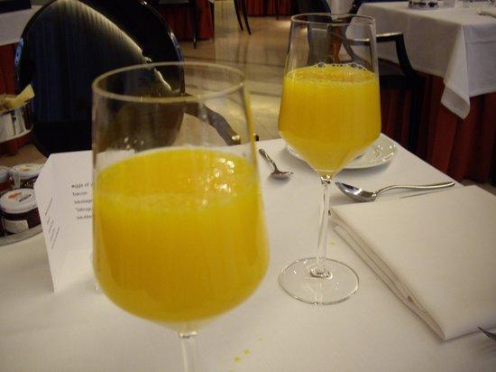 Hotel Villa Real : 絶品オレンジジュース