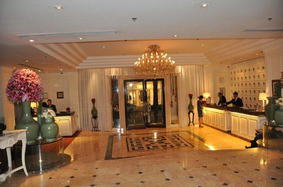 Sofitel Legend Metropole Hanoi : lobby ala nuova