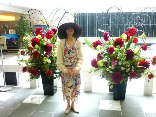 The Prince Park Tower Tokyo: パーティ・宴会場への通路