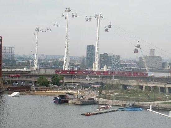 Crowne Plaza London - Docklands: Utsikt fro rommet