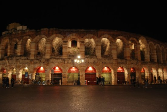 Roseo Hotel Leon D'Oro : Arena
