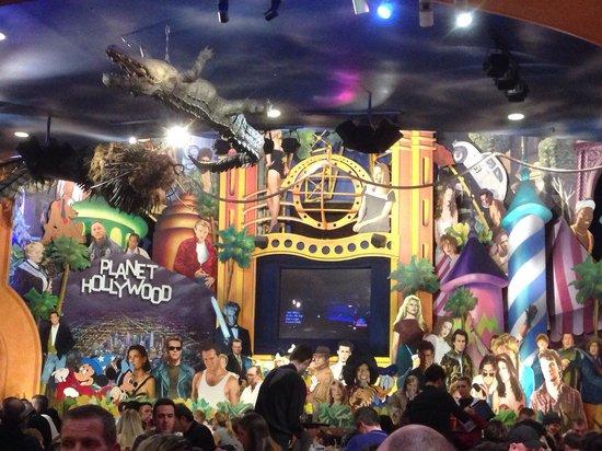 Planet Hollywood: Salle rdc