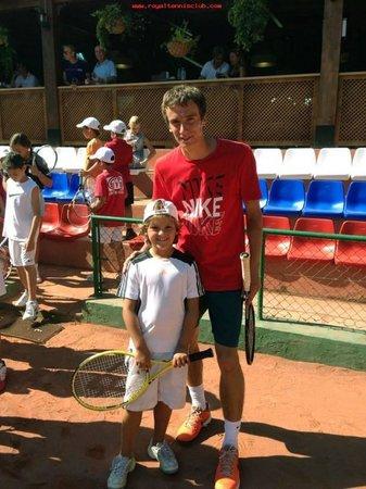 Royal Tennis Club Marbella: Andrei Kuznetsov, top tennis player! Always trains with us!