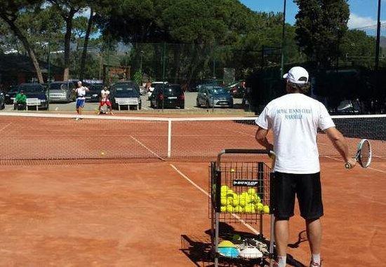 Royal Tennis Club Marbella: Best coaches