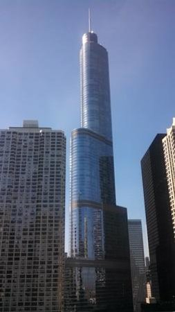 Homewood Suites by Hilton Chicago-Downtown: Trump Tower from our 12 Floor Room