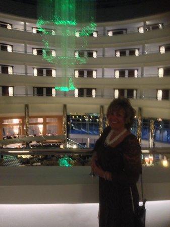 Calista Luxury Resort: overlooking the main atrium