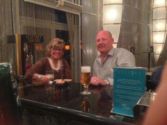 Calista Luxury Resort: drinks in the Black Bar