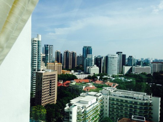 Shangri-La Hotel, Singapore: View from our room