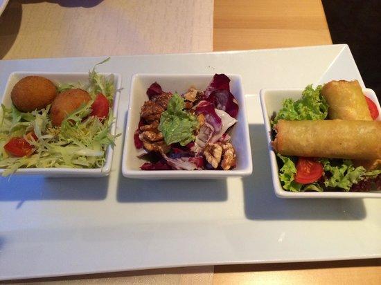 Hotel de France: 3 salats