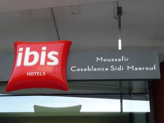 Ibis Casa Sidi Maarouf: Entrée