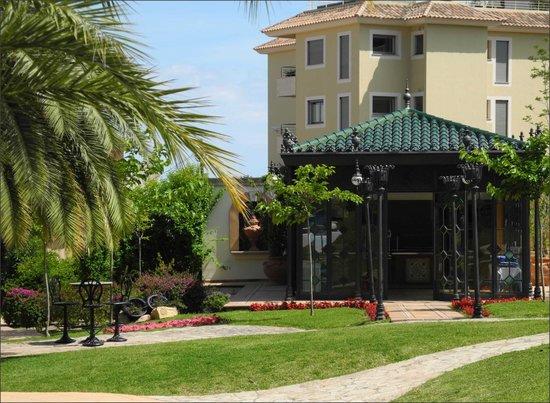GPRO Valparaiso Palace & SPA: Un coin du jardin