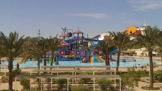 Iberotel Makadi Beach: аквапарк
