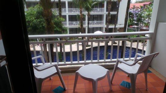 Sunset Beach Resort: view from balcony