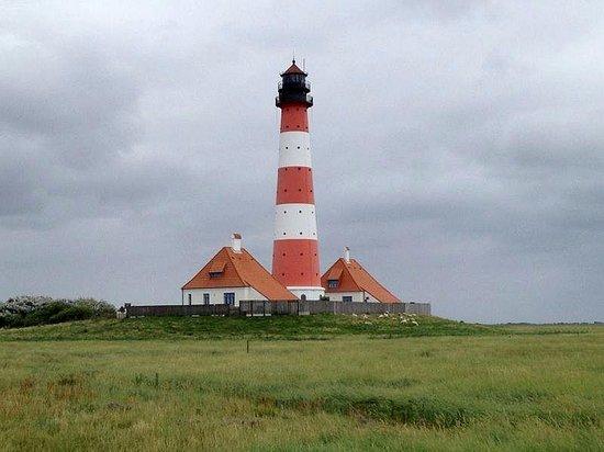 Leuchtturm Westerheversand: Leuchtturm Westerhever