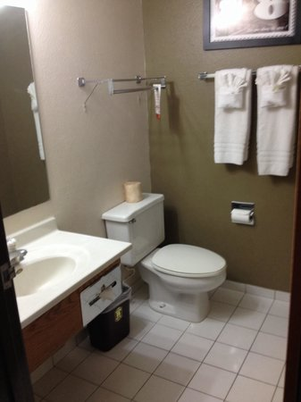 Super 8 Roswell: Bathroom