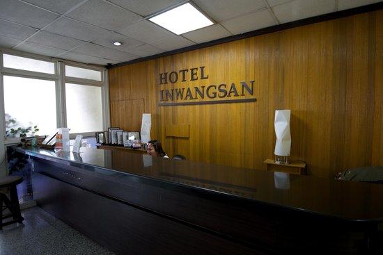 Inwangsan Hotel : Receptionen