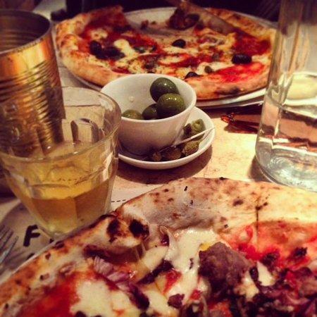 Franco Manca: Delicious.