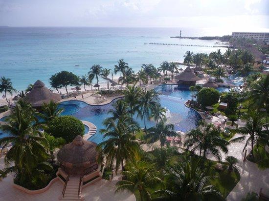 Grand Fiesta Americana Coral Beach Cancun : 部屋からの景色