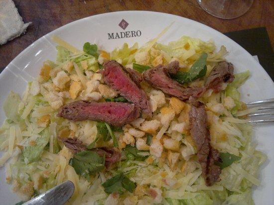 Madero Maringa Catuai: carne crua na salada não dá!!!
