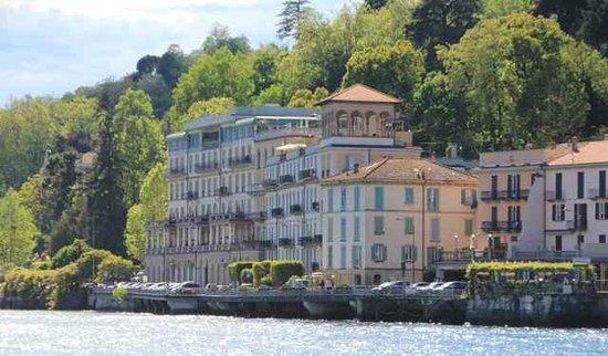 Grand Hotel Cadenabbia: taken from Bellagio ferry