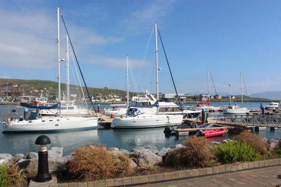 Fish At the Marina: This is the view from the Restaurent