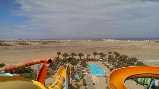 Iberotel Makadi Beach: вид моря с вышки