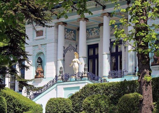 Ernst Fuchs Museum: Villa von außen
