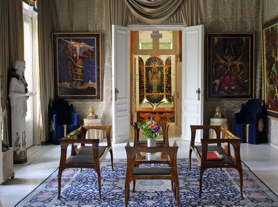 Ernst Fuchs Museum: der Salon