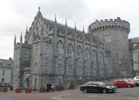 The Clarence: Dublin Castle is around the corner!