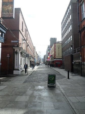 The Clarence: Temple Bar is outside the front door!