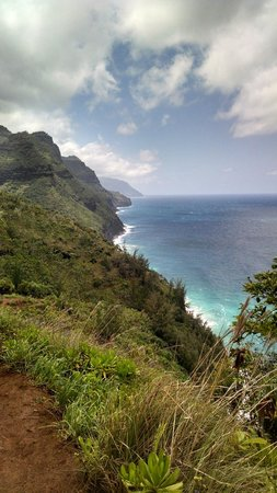 Hanakapi`ai Trail: Hike until you see this view. Take it in and turn around.