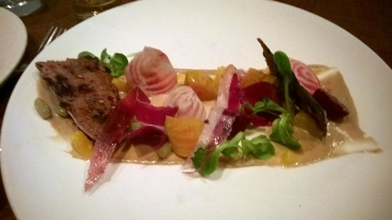 Momofuku Ssam Bar: Roasted Baby Beets