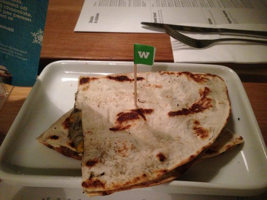 Wahaca Covent Garden : Huitlacoche Quesadillas