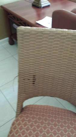 Westgate Vacation Villas Resort & Spa : This is the dining chair in our unit.