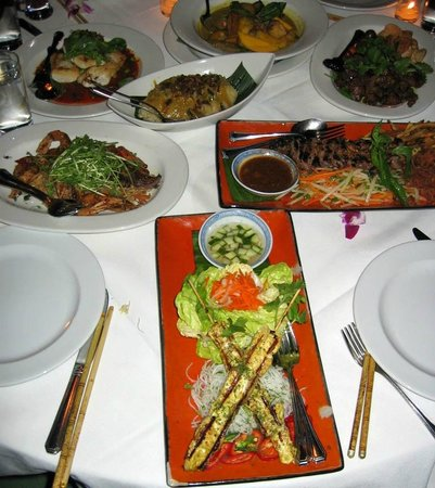 Le Colonial: Traditional Vietnam cuisine infused with dollops of French influence