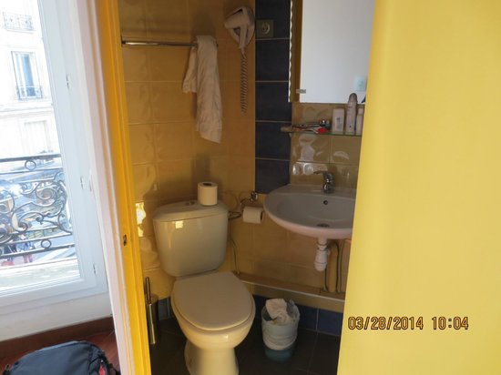Hotel des Arts Bastille: bagno