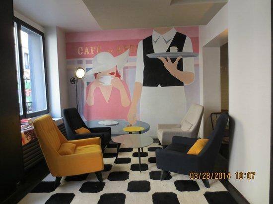 Hotel des Arts Bastille: sala