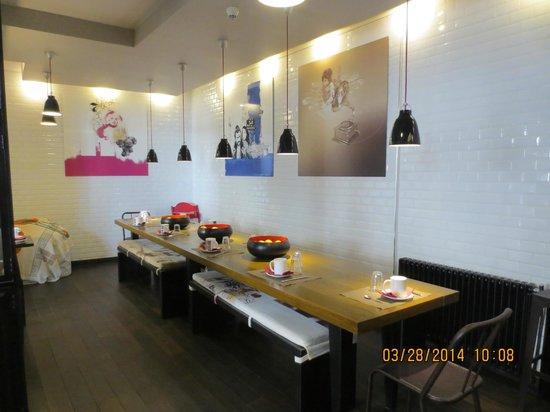 Hotel des Arts Bastille: sala colazione
