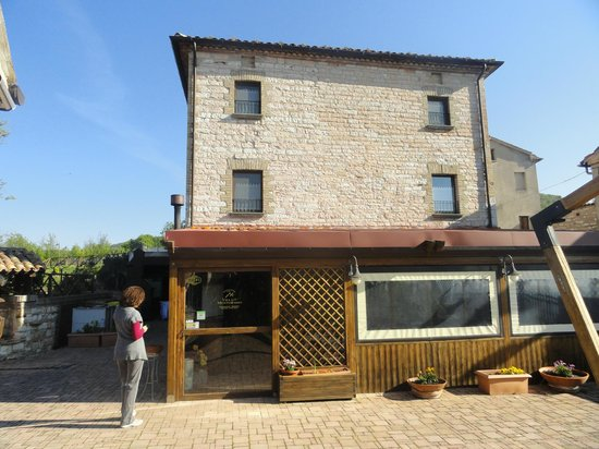 Villa di Monterosso: Esterno la to veranda ristorante