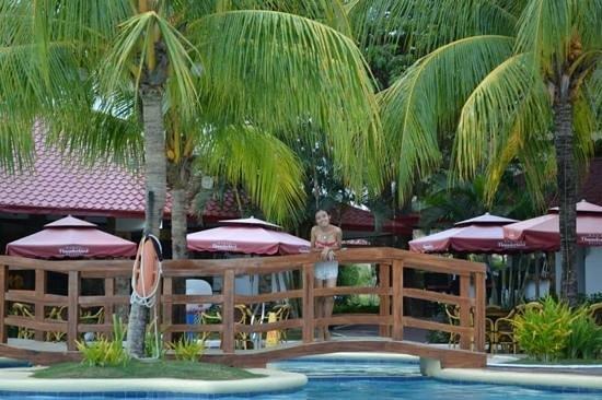 Thunderbird Resorts - Rizal: the pool and the resto