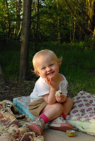 Nethergong Nurseries Camping: Kids having fun!!