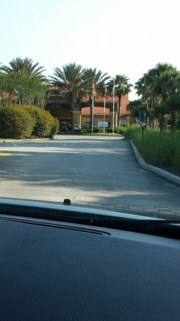 Encantada -The Official CLC World Resort: After entering Gates, Club House ahead. Checking in