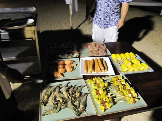 Puri Santrian Beach Club Bar & Restaurant : Delicious ingredients