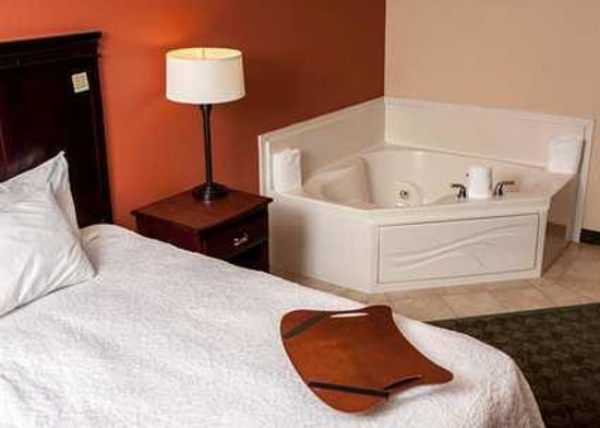 Hampton Inn and Suites Munster: Feel like royalty in our whirlpool