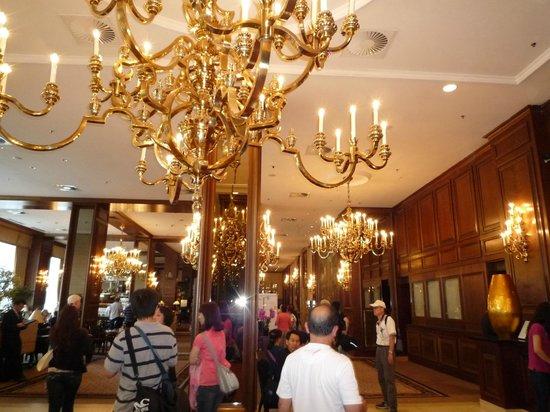 InterContinental Wien: Hotel lobby