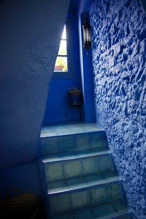 Casa Perleta stairwell