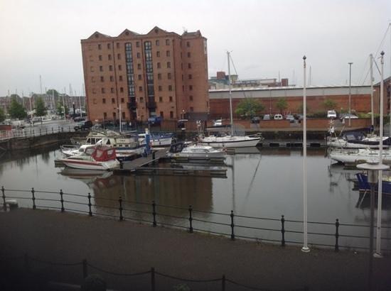 Holiday Inn Hull Marina: The view from room 118